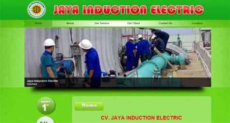 jaya induction electric cv jaya induction electric jasa seo jasa pembuatan website digital karawang