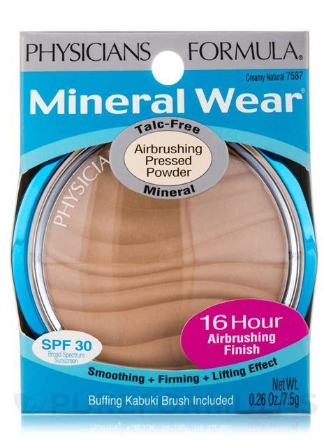Mineral Wear Talc Free Mineral Powder mineral wear 174 talc free mineral airbrushing pressed powder