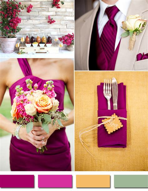 wedding color schemes for fall fabulous 10 wedding color scheme ideas for fall 2014 trends