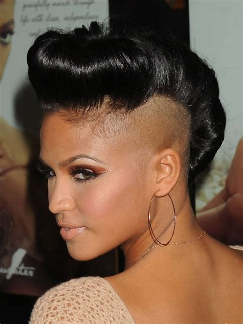 Mohawk Hairstyle by 20 Badass Mohawk Hairstyles For Black