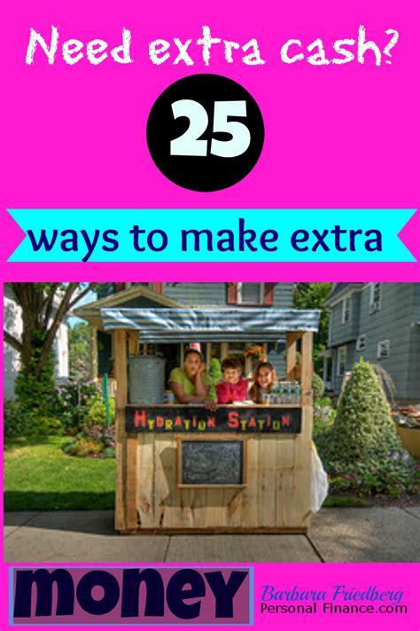 Ways To Make Some Extra Money Online - 25 ways to make extra money
