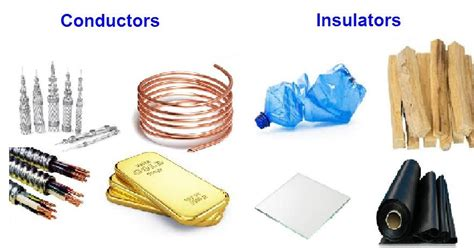 four electrical conductors what are conductors and insulators guide