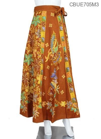 Rok Panjang Motif Batik Biru rok lilit panjang motif bunga warna bawahan rok murah