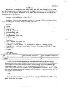 lab write up template sle lab write up help with personal statement for