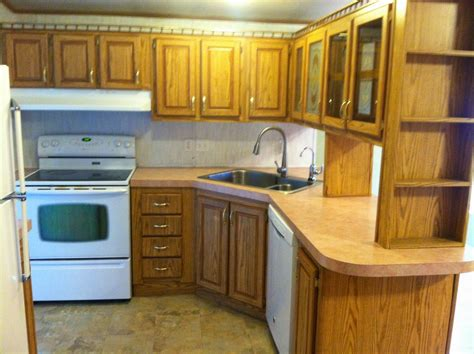 painting mobile home kitchen cabinets mobile home kitchen cabinets best 25 kitchens ideas on
