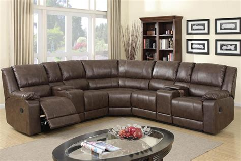 best reclining sectional sofas leather sectional sofas with recliners doherty house