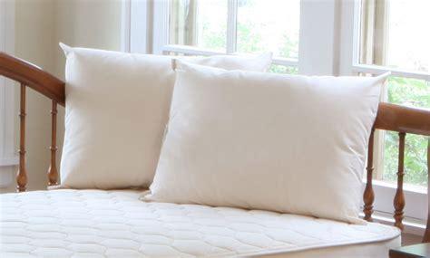 naturepedic organic kapok cotton toddler pillow n cribs
