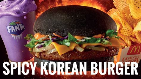 Mcd Spicy review spicy korean burger mcd malaysia
