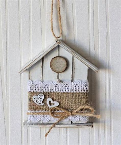 Handmade House Decoration - handmade decorative birdhouses adding personality to