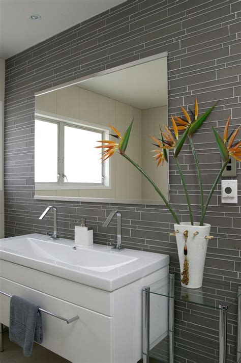 17 best ideas about glass bathroom on pinterest master bath remodel showers and shower ideas Modern Bathroom Grey Tile