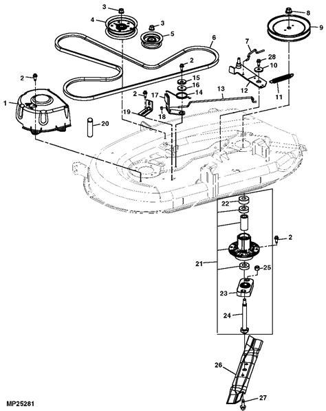 deere la115 belt diagram deere d140 belt diagram free engine image for