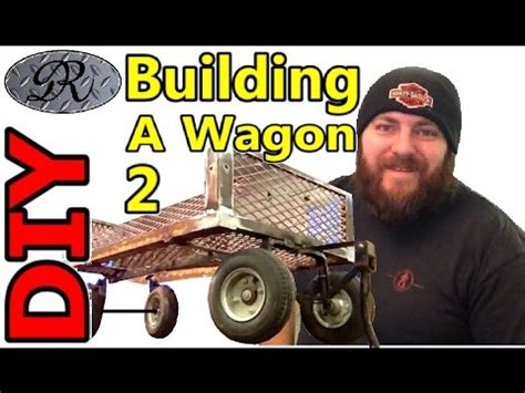 diy part  homemade wagon build project  mans trash