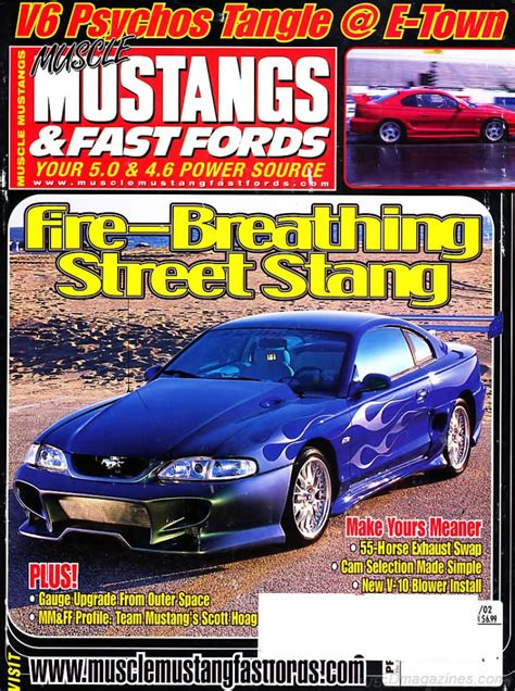 backissues mustangs fast fords december
