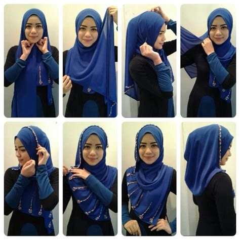 tutorial hijab pashmina estrella style best 25 hijab tutorial ideas on pinterest hijab style