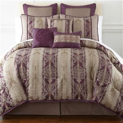 jcpenney queen size bedspreads home expressions toulouse 7 pc jacquard comforter set accessories found at jcpenney bed