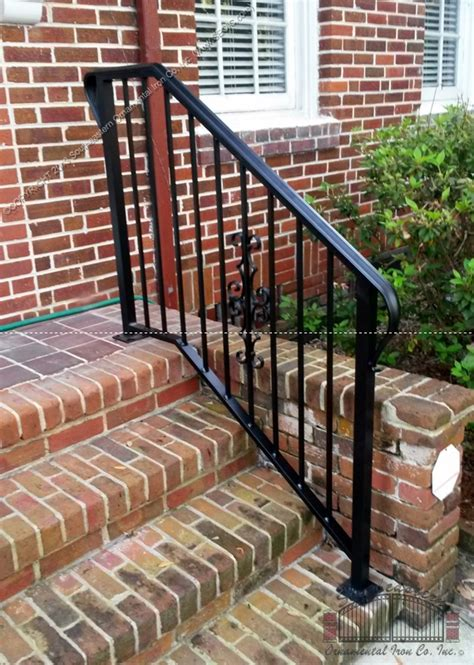 Handrails On Steps Porch And Step Rails