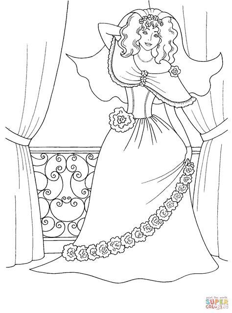 coloring pages cute princess cute princess coloring page free printable coloring pages