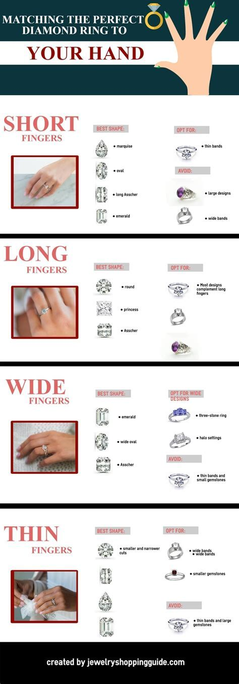 What is the best engagement ring setting for fat fingers