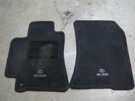 oem lexus floor mats fs is300 oem black floormats clublexus lexus forum