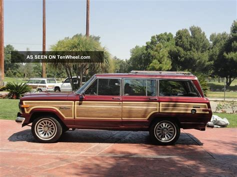 1991 Jeep Grand Wagoneer 1991 Jeep Grand Wagoneer Base Sport Utility 4 Door 5 9l