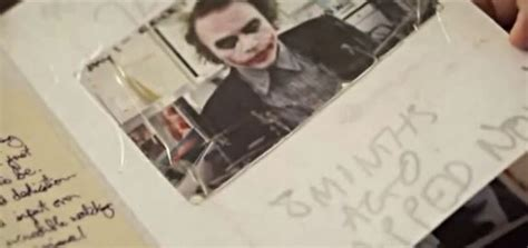 biography book on heath ledger heath ledger take a look inside actor s creepy joker
