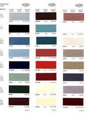 1968 chrysler plymouth dodge color chart paint chips 68 | ebay