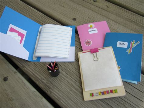 diy school supplies for american goes to school theroommom