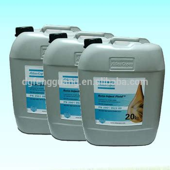 atlas copco roto inject fluid/ injection oil/lubricated