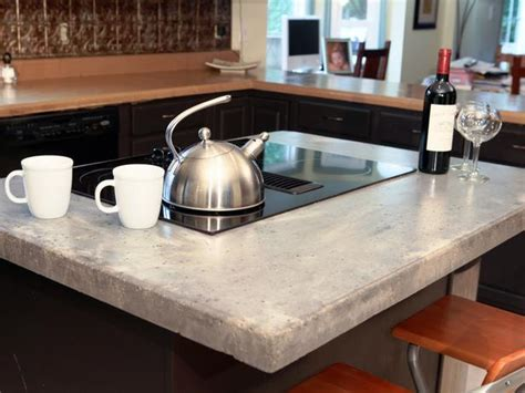 How To Make Concrete Countertops by How To Make A Concrete Countertop Diy Network Countertop And Concrete