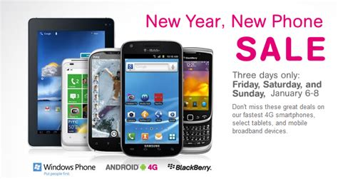 mobile phone sale t mobile starts new year with a with new year new