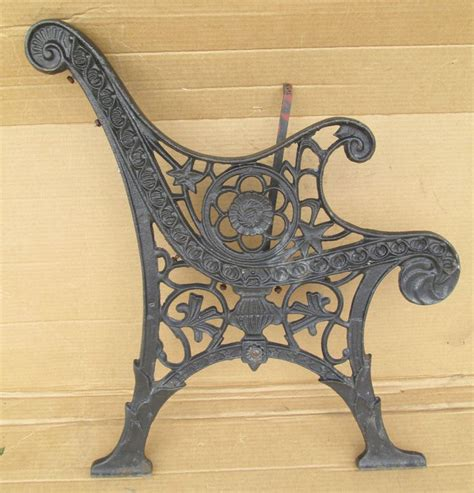 antique cast iron garden bench ends empire antique ornate heavy cast iron