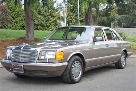 1989 Mercedes 560sel by 1989 Mercedes 560sel For Sale On Bat Auctions Sold