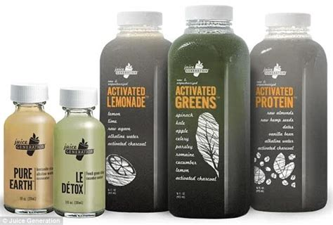 Juice Collagen from charcoal juice to collagen water the beverages that
