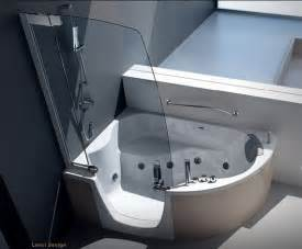 Corner Bath And Shower Modern Shower Furniture Modern Corner Bathtub With Shower