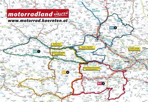 Motorrad Touren Forum by Motorradtour K 228 Rnten Karte K 228 Rnten Bild 13 13 Bikerszene