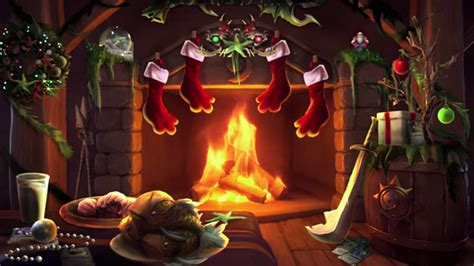 blizzard release video  murlocs gargling  christmas songs   hour happy holidays