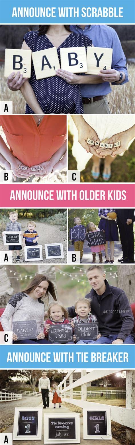 scrabble pregnancy announcement 50 creative pregnancy announcements
