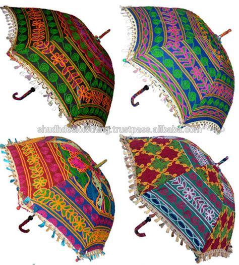 Patio Sofa Table Jaipuri Embroidered Elephant Design Work Vintage Style