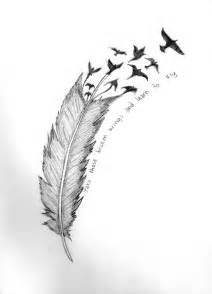 Feather tattoos designs and ideas page 38