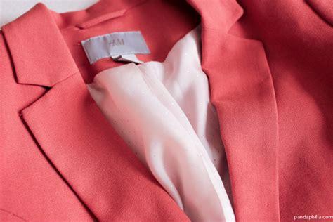 Blazer Flace Lolipop pandaphilia day of class pink blazer