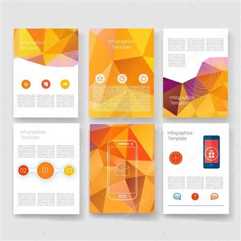 how to design a mailer templates collection de mod 232 les de conception de brochure de vector
