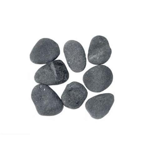 vigoro 0 5 cu ft black lava rock 100032410 the home depot