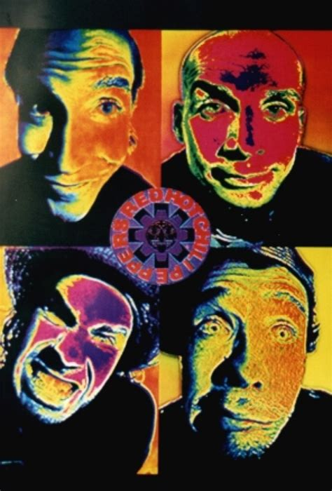 red hot chili peppers in color poster home decor gift by red hot chili peppers posters rhcp poster 8223 panic
