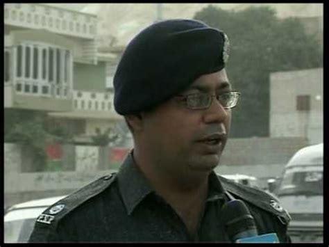 muzaffar ali shaikh ssp psp pr police, karachi division