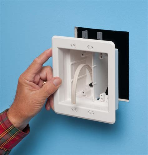 arlington tvbubl  recessed tv outlet box