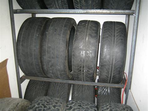 Ture Rack by Tire Storage Tire Rack My350z Forums