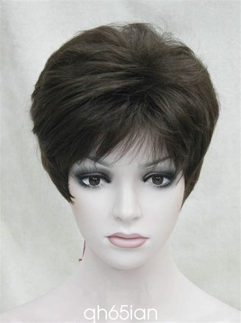 short blonde wigs for women 11 colour short straight wig women natural hair ladies