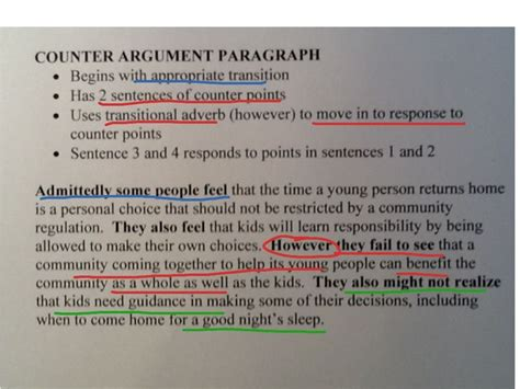 In A Research Paper Would Counter Arguments Be Necessary by 9 Best Images About Argumentative Essay On Essay Topics Exles And Template