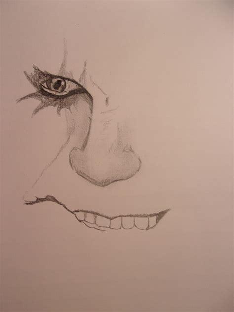 imagenes del guason para dibujar faciles mi dibujo el guason joker lapiz taringa