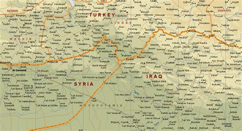 map of turkey and iraq map of iraq and turkey most curious map images
